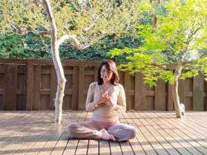 ハートチャクラの瞑想の手順1